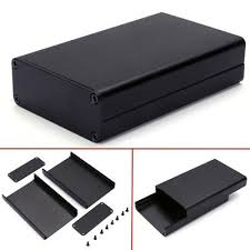 80x50x20mm Aluminum PCB <b>Instrument</b> Box Enclosure <b>Electronic</b> ...