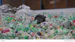 Recycling Plastic Bottles Recycling Plastic Bottles At Recycling Center 1 Stock Video