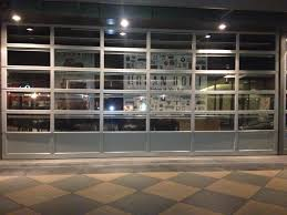 commercial glass garage door full view aluminum clear glass with inspiration ideas commercial glass garage doors