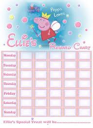 Peppa Pig Potty Training Reward Chart Printable Peppa Pig Reward Chart Free Printable Image Search Results