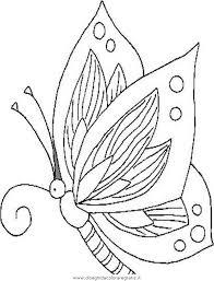 Disegno Butterflyfarfalle Animali Da Colorare
