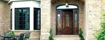 door colors for red brick houses dark brown brick house front door colors for regarding inspirations