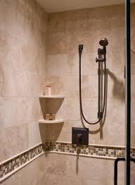 shower shelves for tile corner shelf bathroom traditional inside designs 11