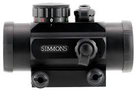 simmons red dot scope. sim 511304 red dot rbg 1x30 3moa mt simmons red dot scope