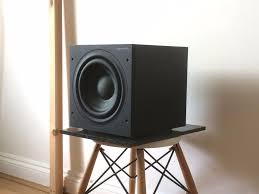 bowers and wilkins asw608. bowers and wilkins b\u0026w asw608 s3 subwoofer speaker in black sub £200 asw608