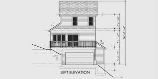 side garage house plans sloping lot house plans house plans with side garage