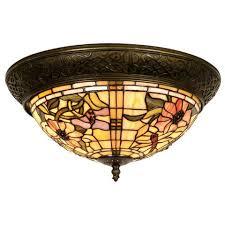 tiffany flush ceiling lights uk. pavot tiffany flush ceiling light lights uk c