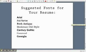 best font to use in resumes. 20 best and worst fonts to use on your resume  learn .