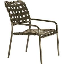 vinyl strapping for outdoor furniture idea patio chair straps and cross strap dining chair patio furniture