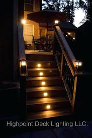 outdoor stairs lighting. Outdoor Stair Lights Deck Lighting Some Family Members Should Invest In This Idea Up Their Steps Stairs