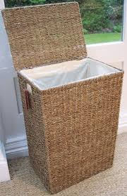Alluring Simple Wicker Rattan Target Laundry Hamper With Removable Linen  And Top Opens