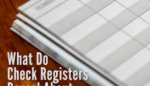 Alabama School Connection » Check Register Table With Links