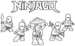 Ninjago Coloring Sheet Get This Coloring Pages Free Printable Lego