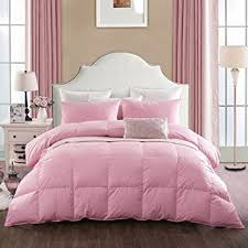 Amazon.com: Rose Nature Goose Down and Feather Bed Comforter Quilt ... & Rose Nature Goose Down and Feather Bed Comforter Quilt,Orangic Cotton  Shell, 620 Filling Adamdwight.com