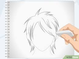 They knew how to draw people and tweaked it and developed their own style and their own identity. How To Draw Anime Hair 14 Steps With Pictures Wikihow