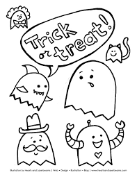 Small Picture halloween coloring pages you can print 7 pics of cute halloween