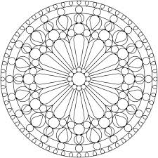 Small Picture Simple Geometric Pattern Coloring Pages