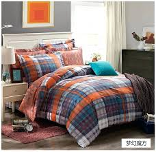plaid bedding sets awesome comforter brown and orange comforter sets plaid comforter sets orange bedding sets designs plaid quilt sets