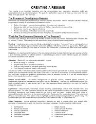 What Jobs To Put On Resume Good Objective Statements To Put Onume Fortaurant Objectives 38
