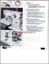 Elna Special Sewing Machine Manual