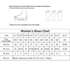 Size Chart Usshoes