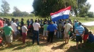Resultado de imagen para paraguay reclamos indigenas caraguatay