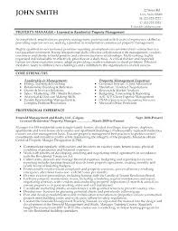 Assistant Property Manager Resume Property Management Assistant