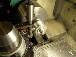 metal lathe cutting. inside radius cutting tool ( lathe ) by captainleeward - i made this to cut the dies for my ring roller. | lathe stuff pinterest lathe, metal cutting
