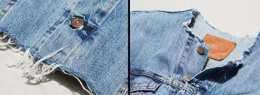 diy how to crop your denim jacket