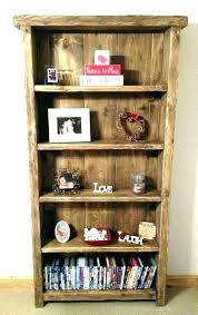 rustic bookcase with doors solid wood bookcase with doors rustic dark antique glass rustic bookcase with