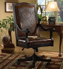 crazy office chairs. elk executive chair love the tooled leather not crazy about office chairs f