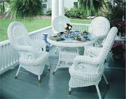 white wicker furniture. Plain Wicker Stunning Victorian Wicker Dining Set Of 5 White Wicker Furniture For White Furniture A
