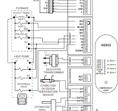 cdy1epex72p1 multistage, multizone wiring of thermostats heating help the wall on honeywell hz432 wiring diagram