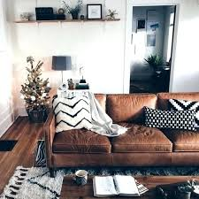 brown leather couch living room collection in design ideas for slipcovers concept best area rug with