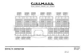 Cinemark Seating Chart Cinemark 14 Denton Tx Seating Plan