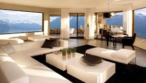 modern luxury homes interior design. by achieving careful and artistic design compositions of light, colour, space appropriate materials at the highest standards, he reveals distinctive modern luxury homes interior