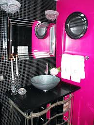black and pink bathroom accessories. Fine Accessories Hot Pink Bathroom Accessories Full Size Of And Black  Bathrooms  And Black Pink Bathroom Accessories