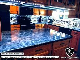 countertops over laminate reviews tile metallic kit home depot gray improvement likable y refinish kitchen with best resu