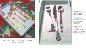 collectibles gold flatware