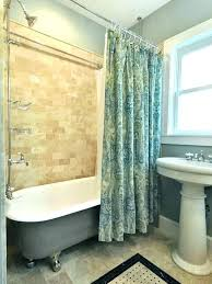 shower curtains for clawfoot tubs shower curtains for tub bathtub shower curtain bathtub shower curtain liner