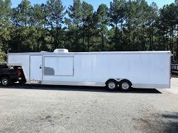 40 pre owned featherlite gooseneck trailer