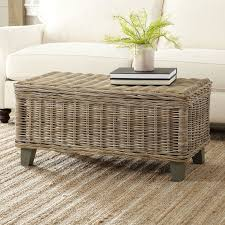 birch lane rivera rattan coffee table reviews with regard to plans 0