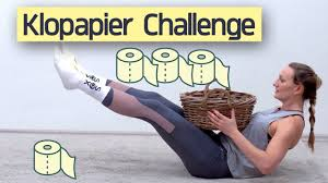 ab Primarstufe | KLOPAPIER CHALLENGE | Sport & Bewegungs Challenge Kinder|  Level: Beginner-Advanced - YouTube