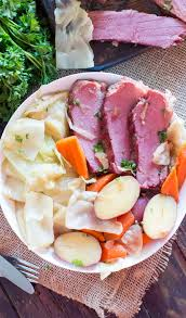 Cooking Light Corned Beef Cabbage Instant Pot Corned Beef And Cabbage Video Sweet And