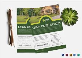 Lawn Care Brochure Lawn Mowing Business Lawn Care Flyer Templates And Design Options