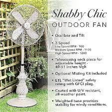 designer aire oscillating outdoor standing floor fan