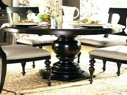 pedestal kitchen table black round kitchen table with leaf large round dining table with leaves round