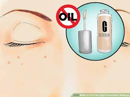 image led pick the right foundation makeup step 01