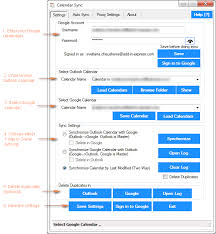 How To Sync Google Calendar With Outlook 2016 2013 And 2010