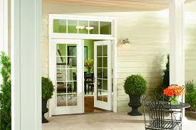 door patio. French Patio Door With Traditional Grids.